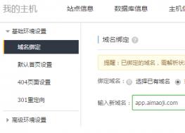 网站二级目录绑定到二级域名