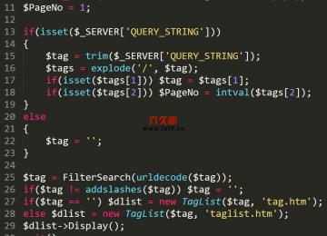 织梦实现tag标签伪静态为id.html